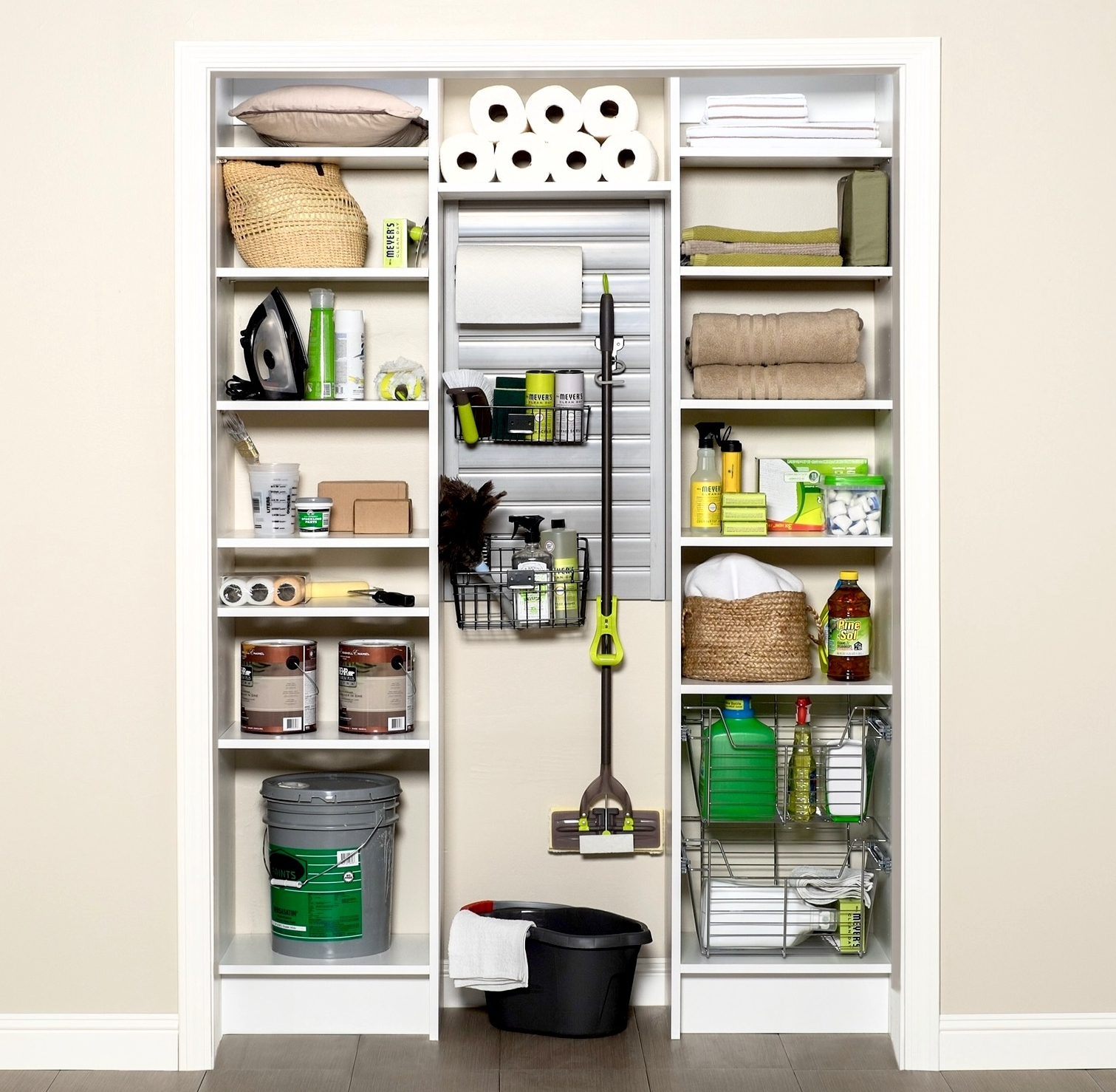 Storage for Kitchen Pantry or Laundry Room by Closets of Tulsa