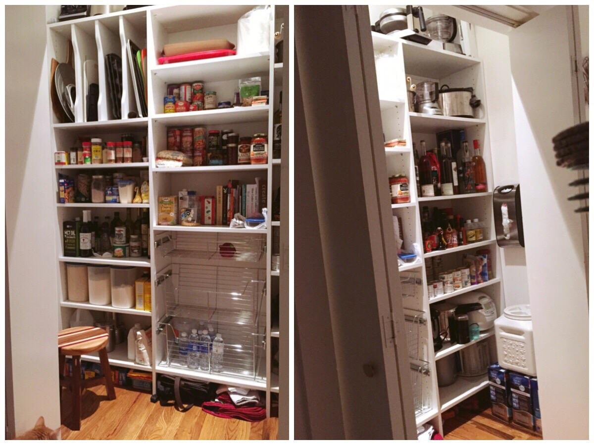 Custom Kitchen Pantry by Closets of Tulsa