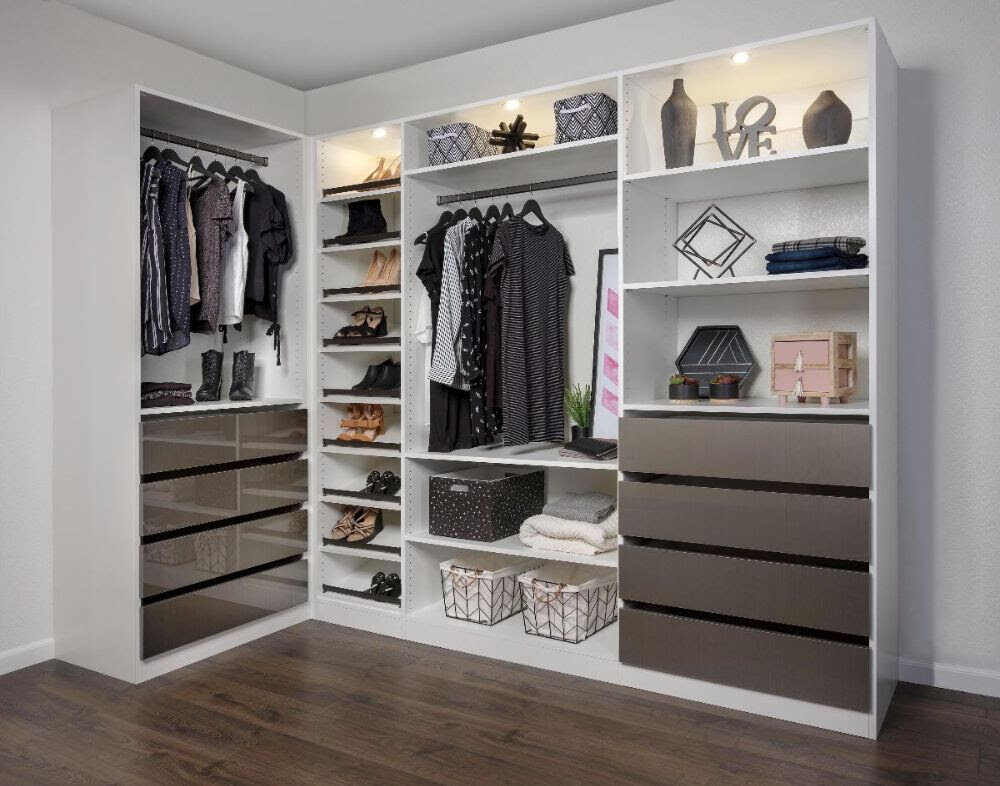 Closets of Tulsa offers high-quality closet lighting solutions that maximize style and convenience.  Call now  for your FREE consultation and 3-D closet design:  918.609.0214