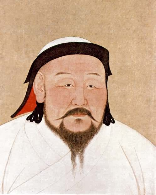 Anige of Nepal,  Kublai Khan , 1294, Public Domain.