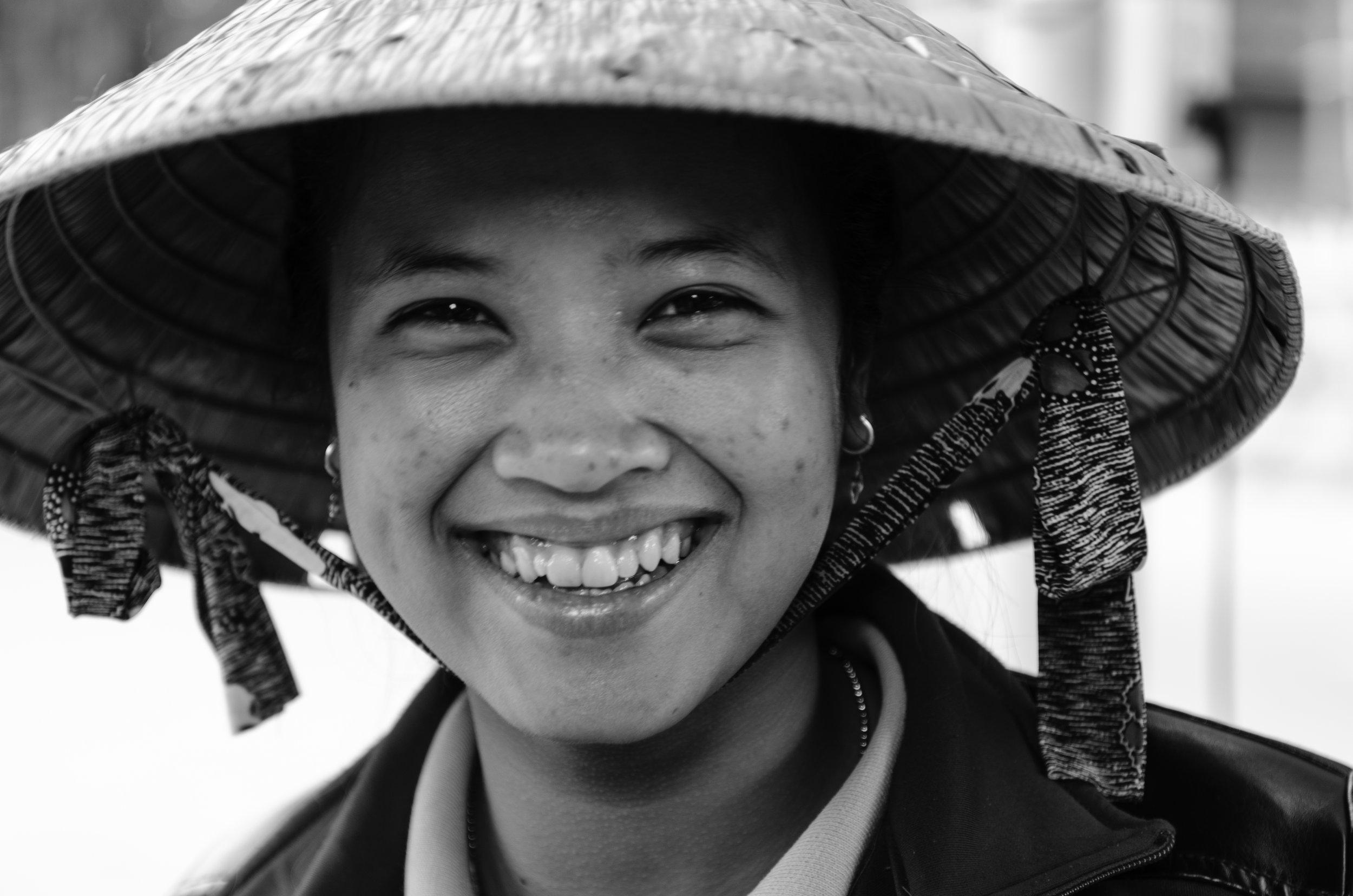 CiaoHo, Vietnamese's smile. Soctrang, Vietnam (27 Jan 2014).CC BY 2.0