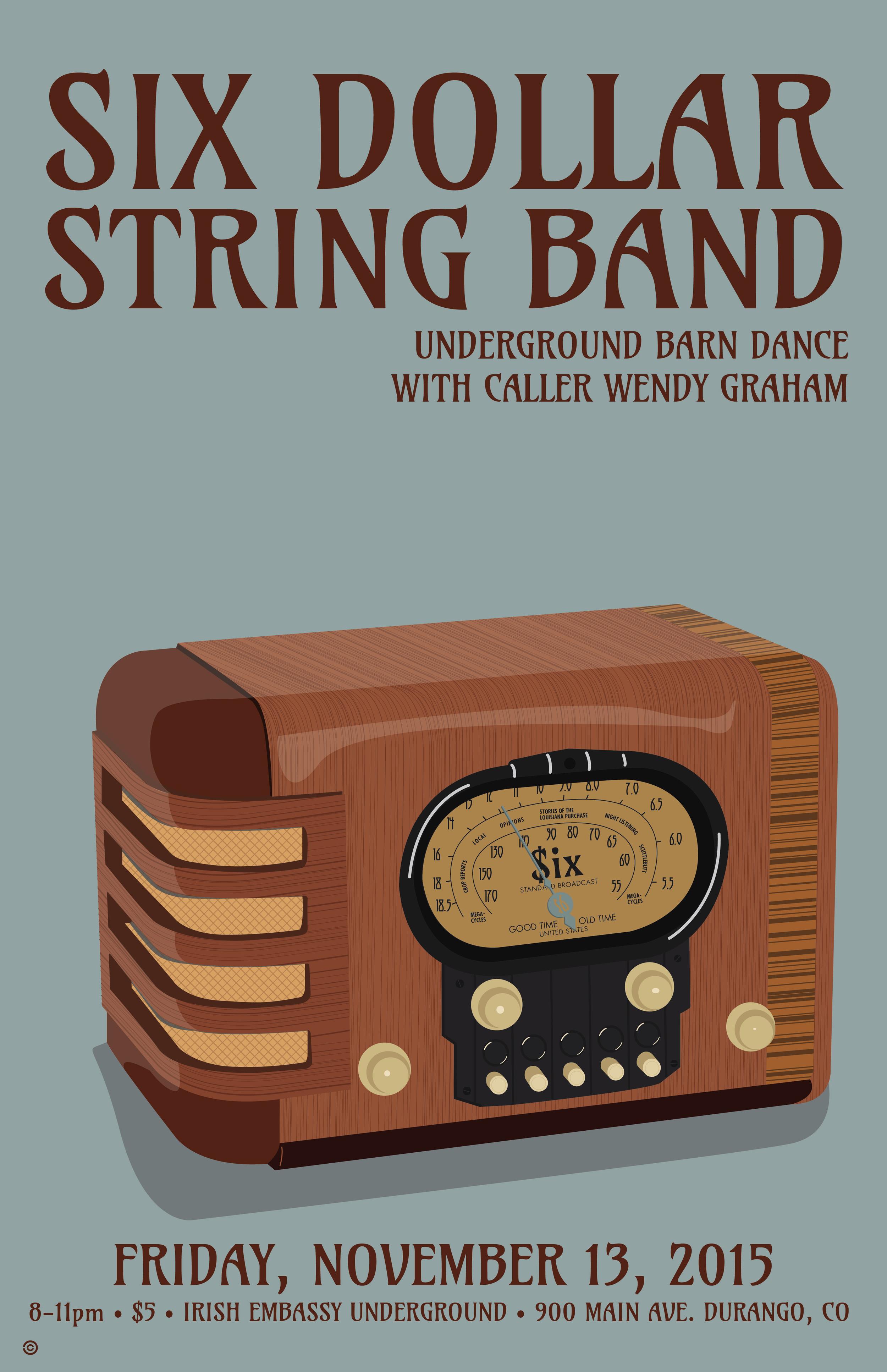 Radio - Six Dollar String band