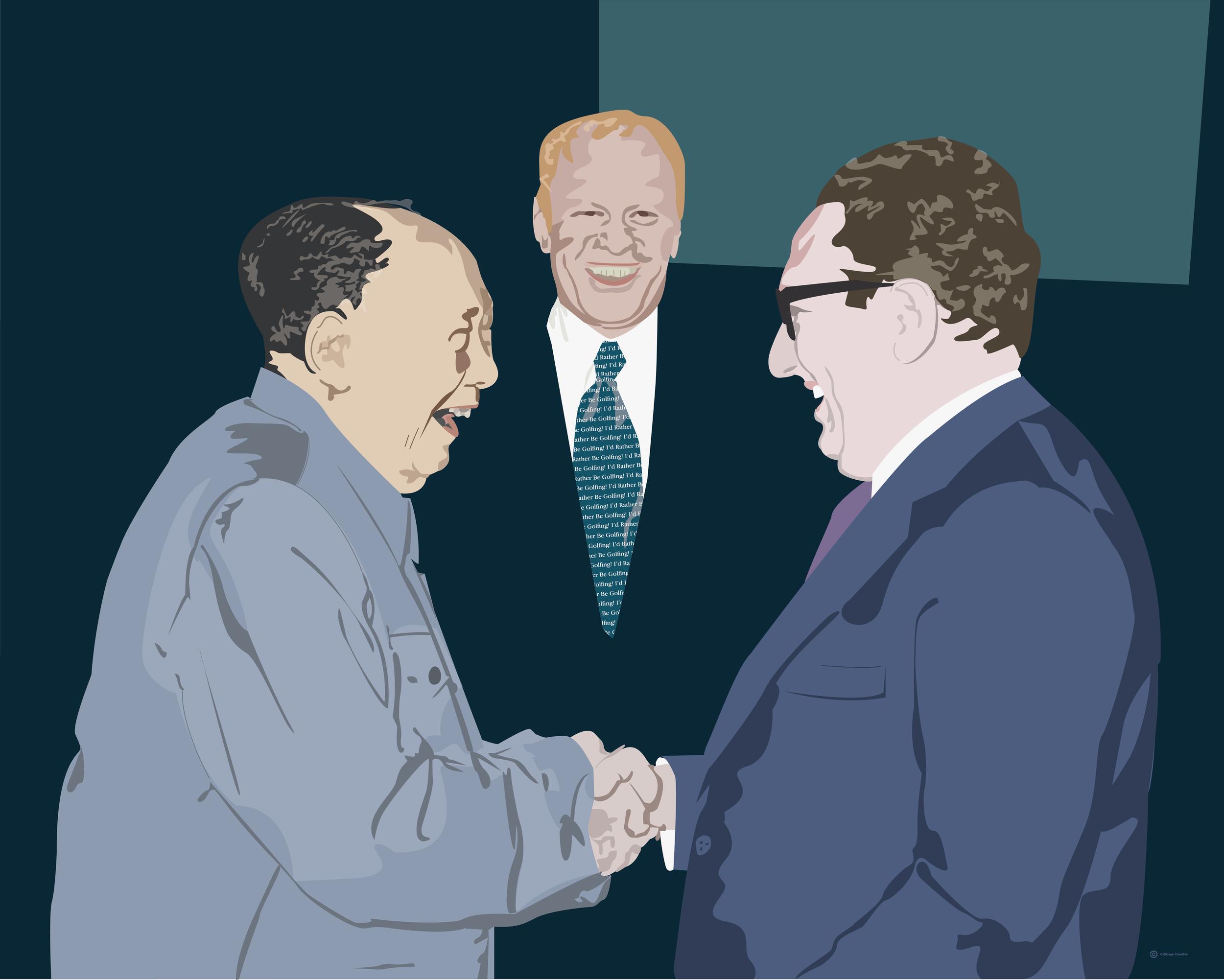 1975:  Mao, Ford, Kissenger