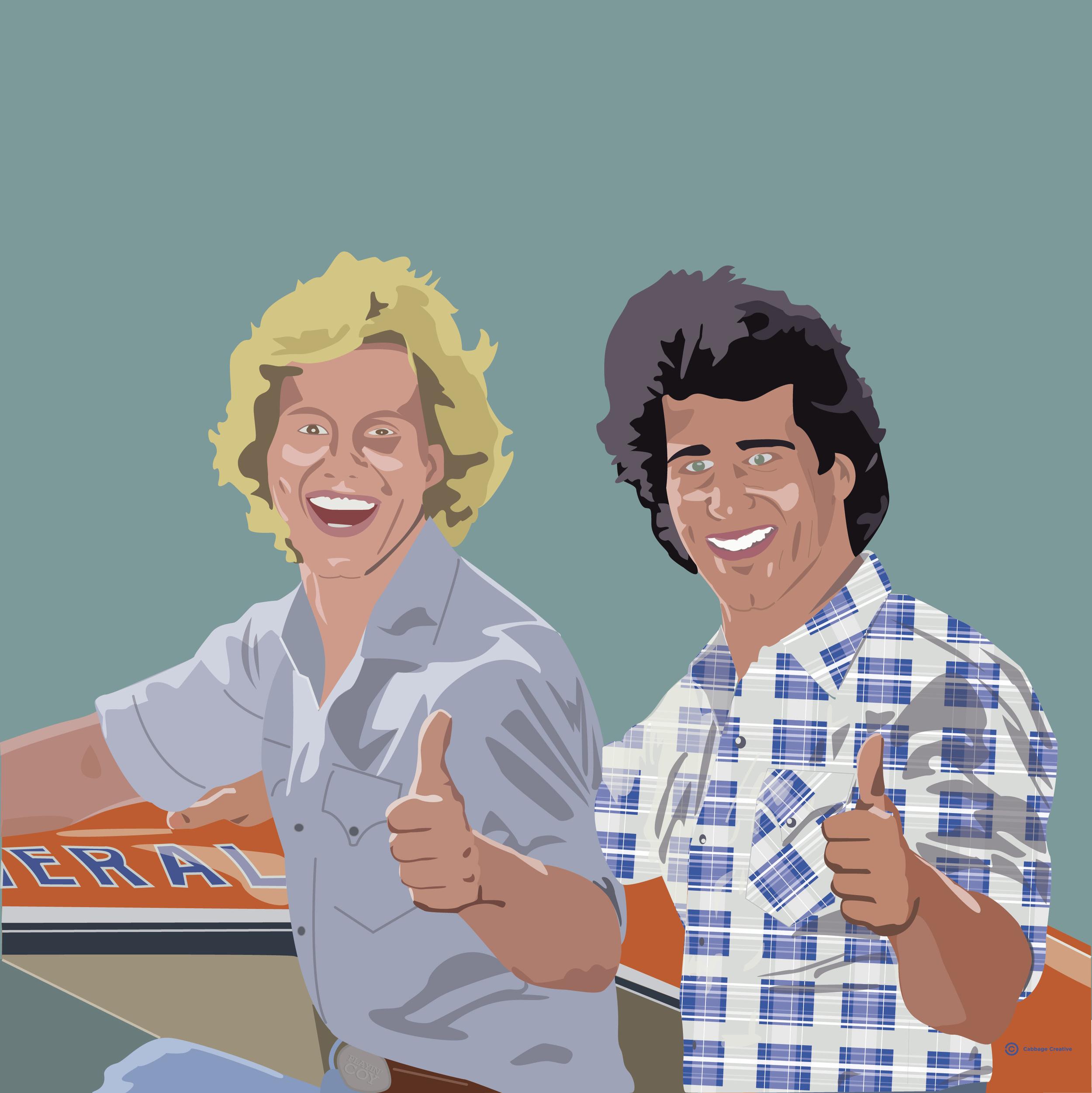 1982:  Coy & Vance Duke