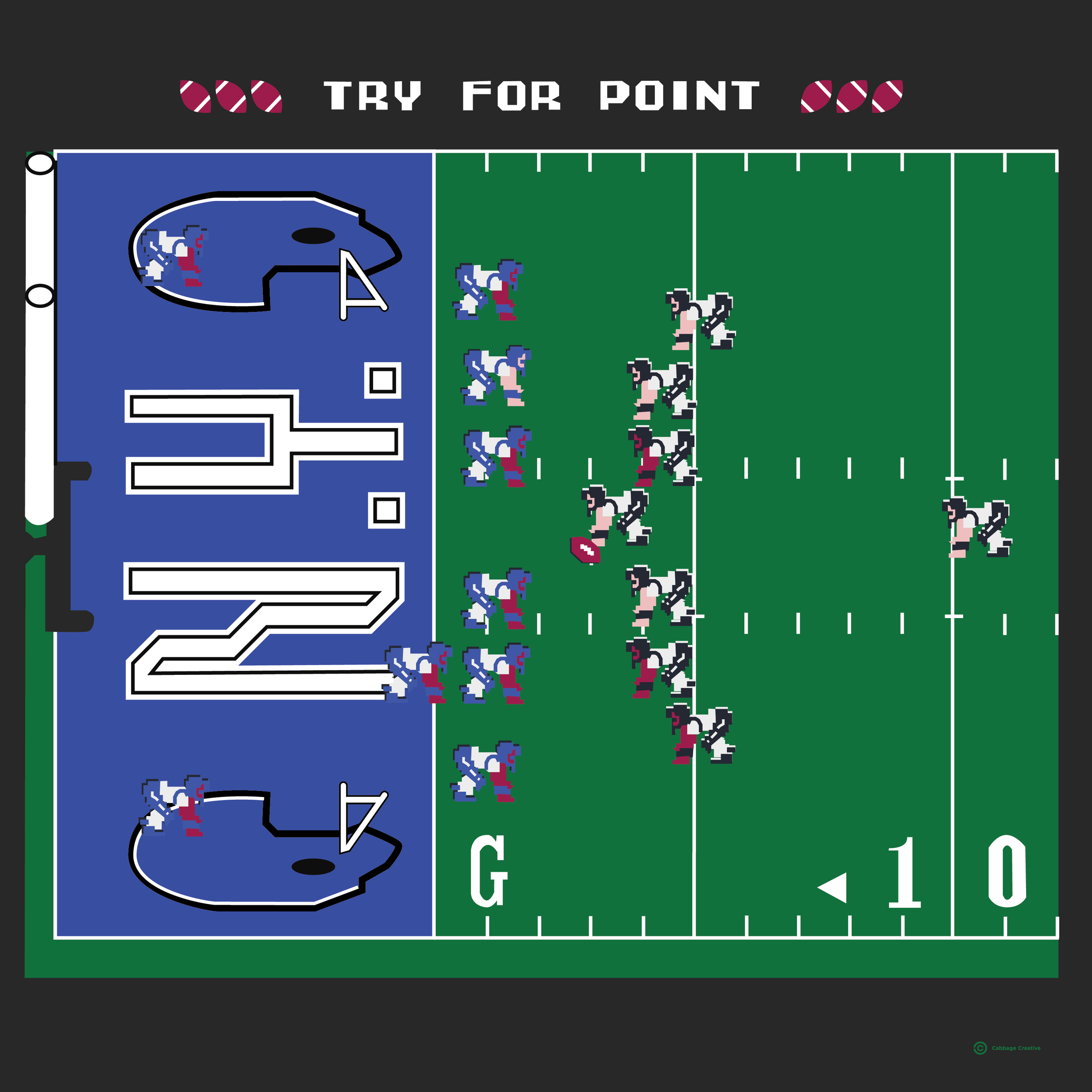 1990:  Techmo Bowl (Lawrence Taylor will block your kick)