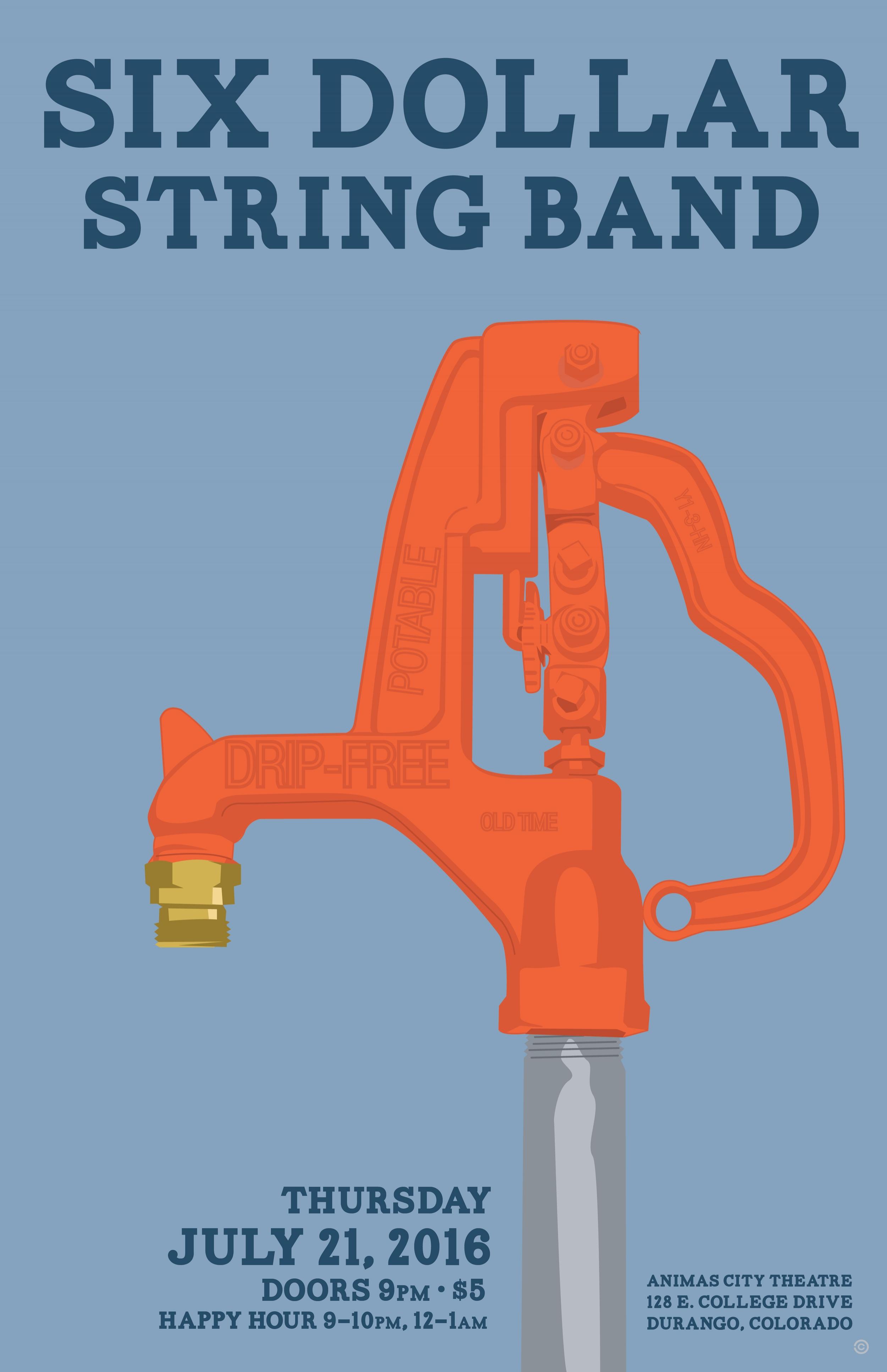 Pump - Six Dollar String band
