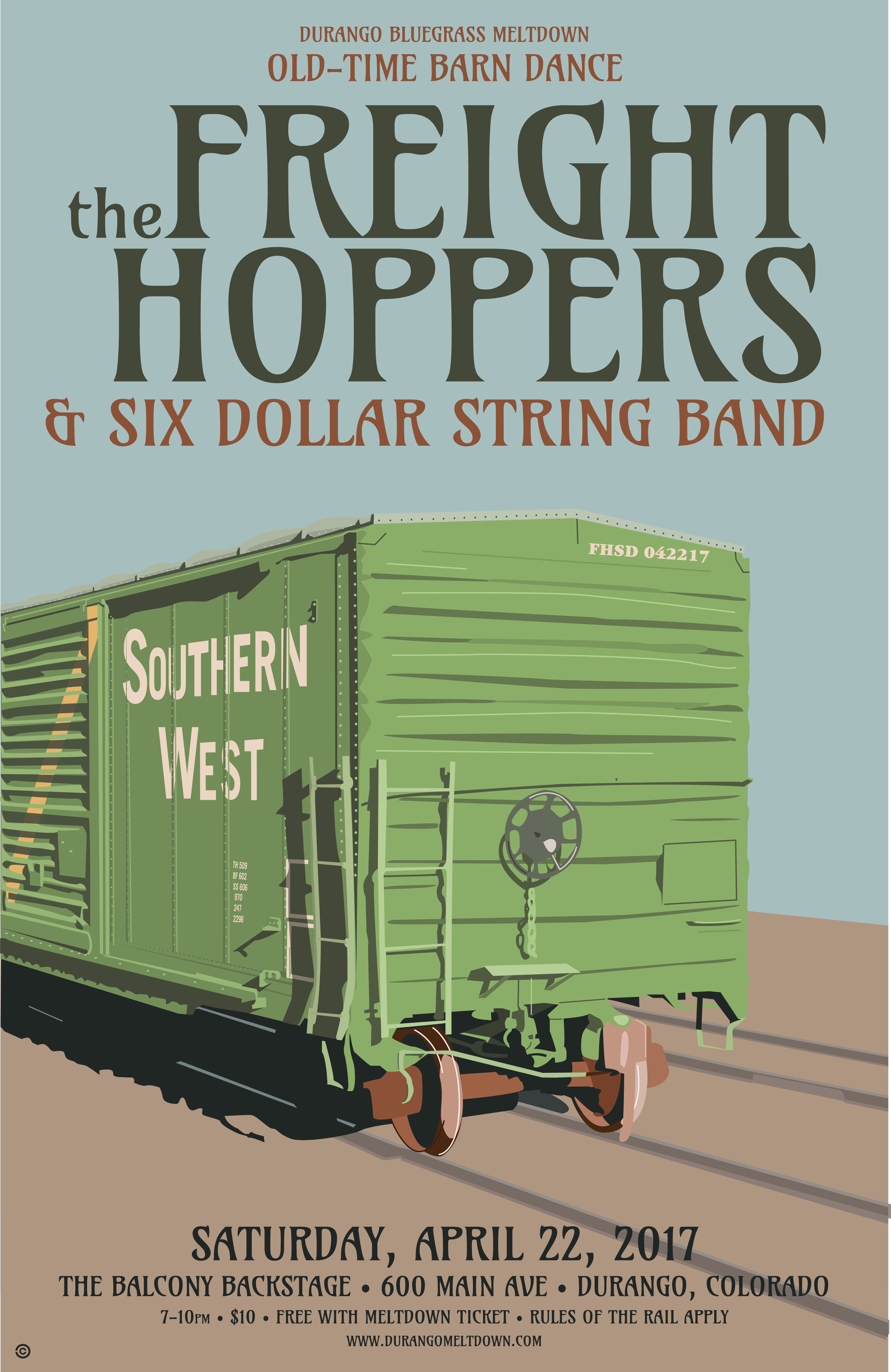 Box Car - The Freight Hoppers & Six Dollar String Band