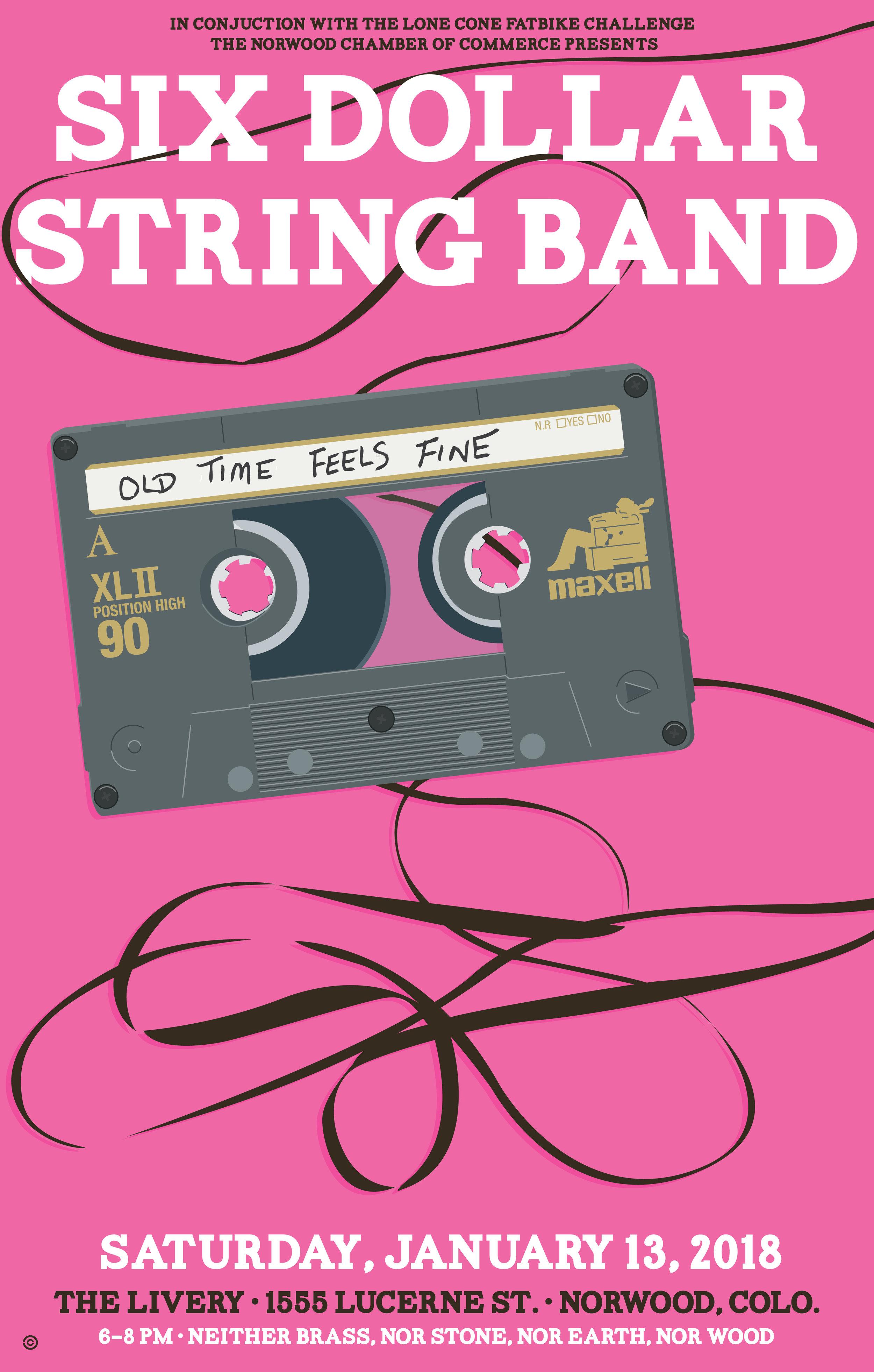 I need a pencil - Six Dollar String Band