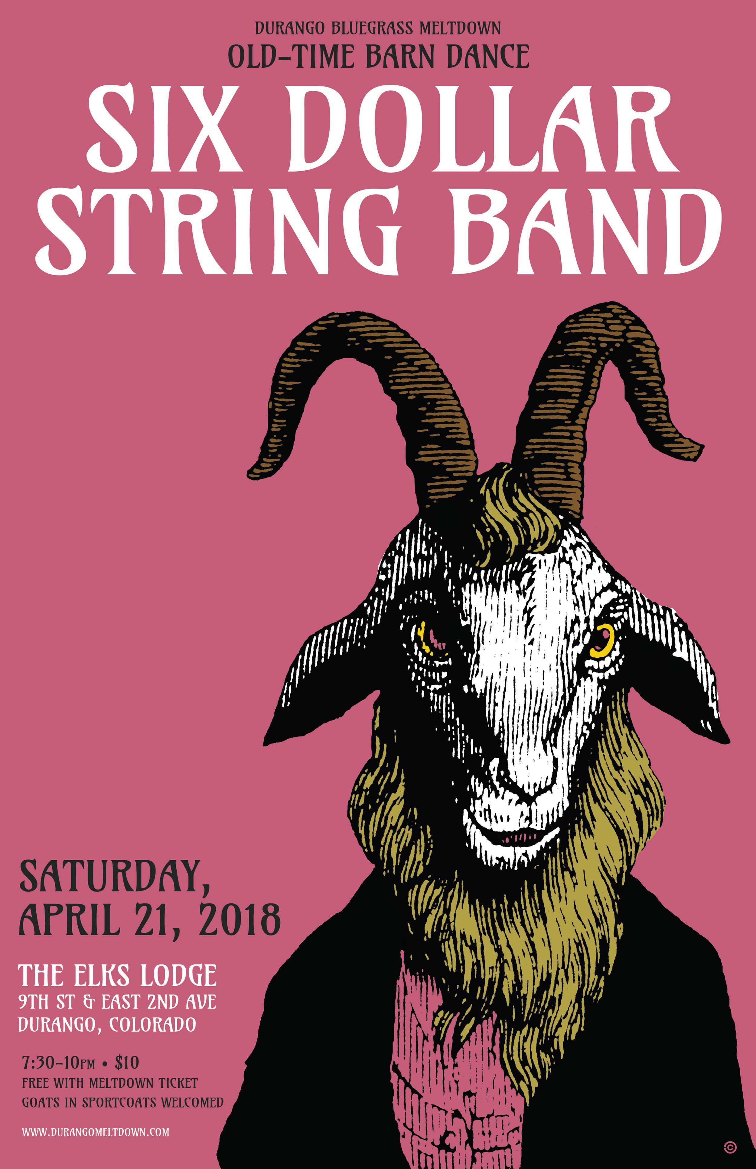 Barn Dance - Six Dollar String Band