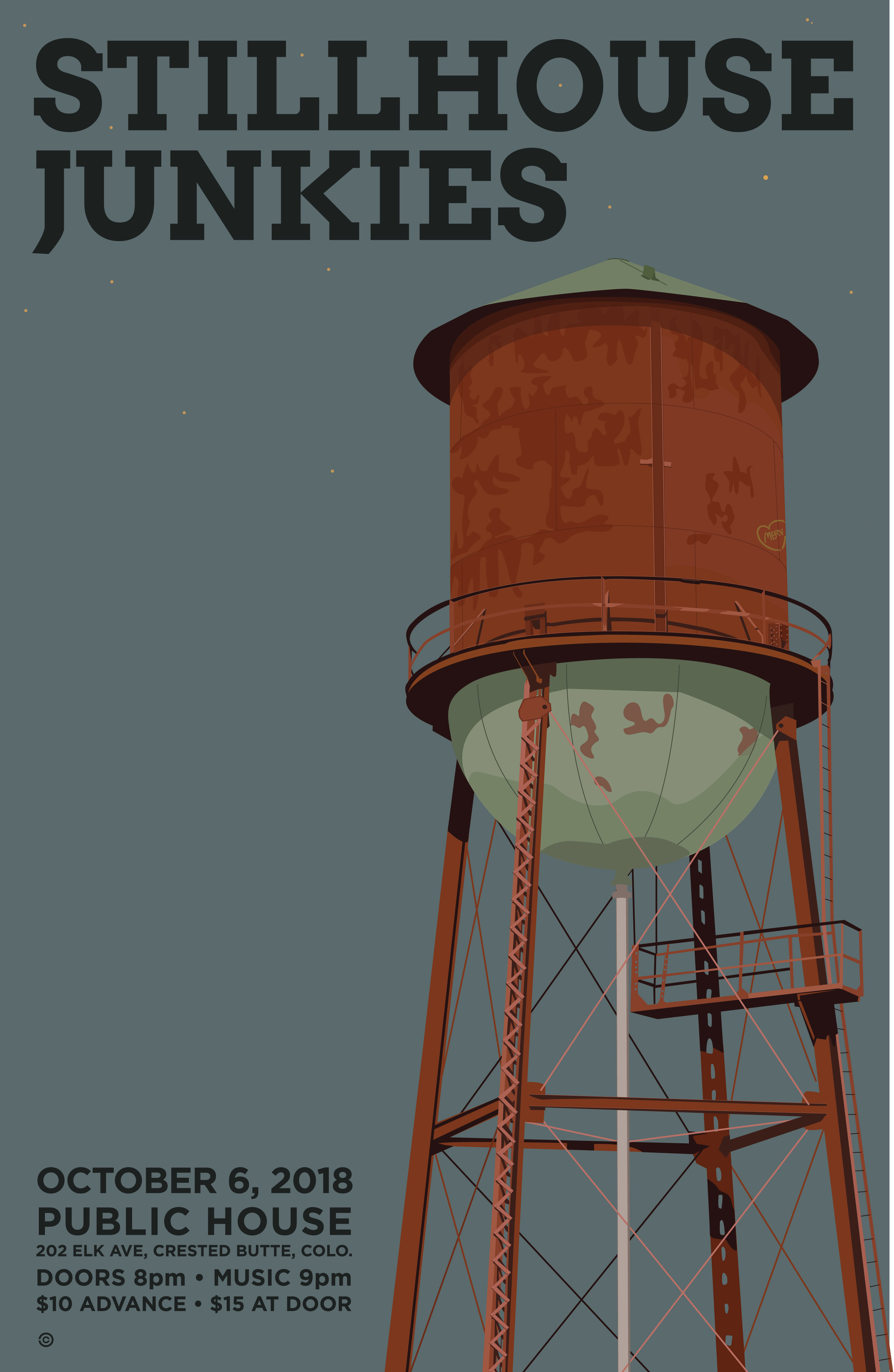 Watertower - Stillhouse Junkies