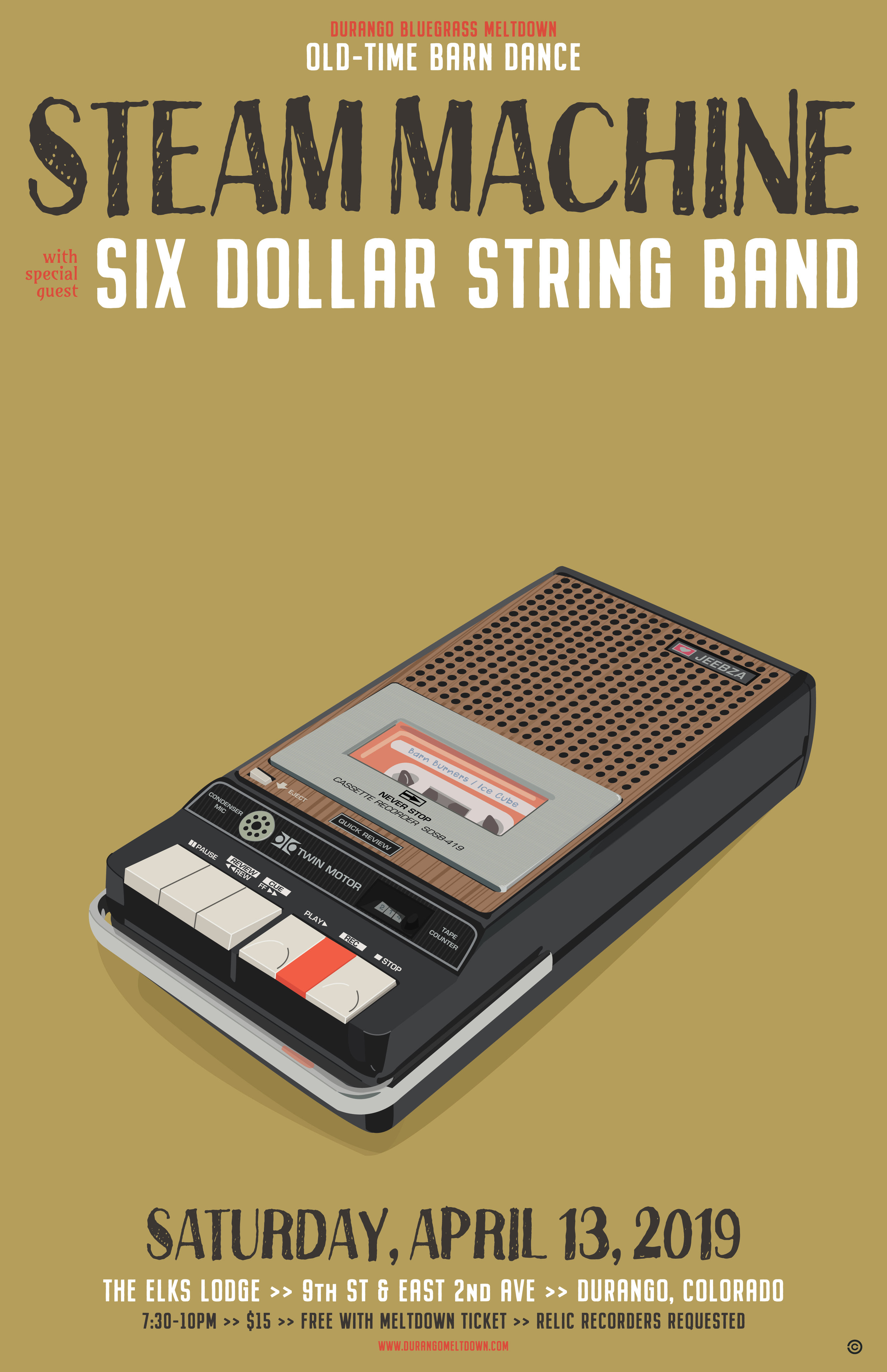 Tape Recorder - Steam Machine & Six Dollar String Band