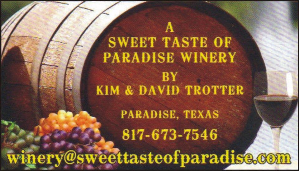 Sweet Taste of Paradise Wines
