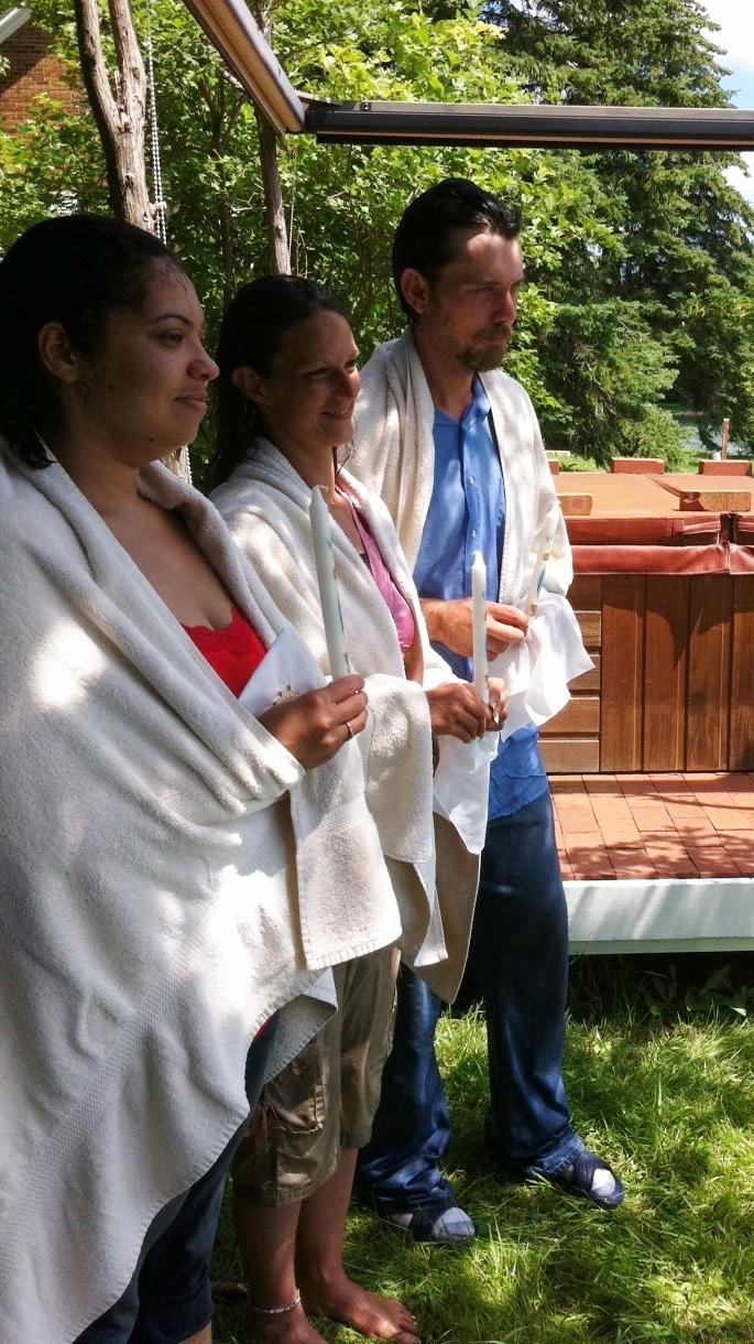 July 2013 - Baptism on the Lake.JPG
