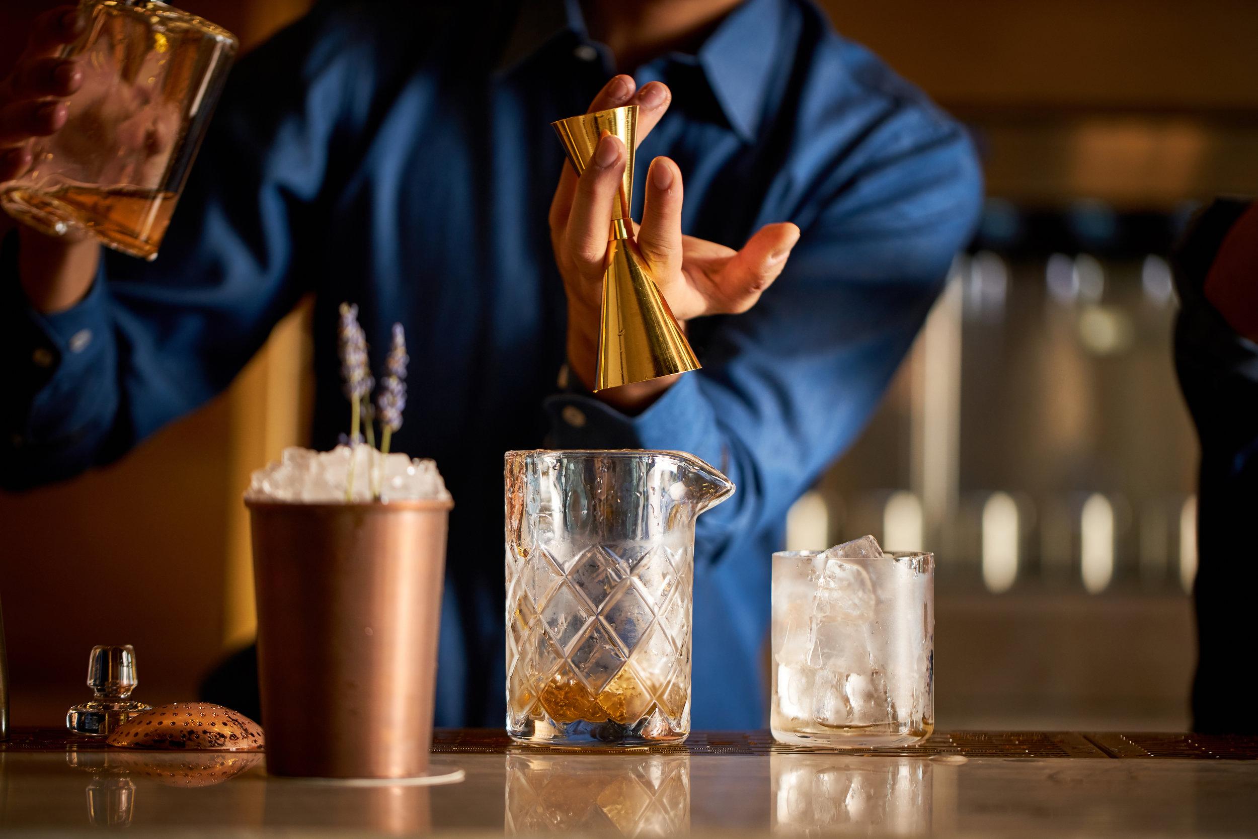 Bar at BASTA! Dubai | Chef David Myers