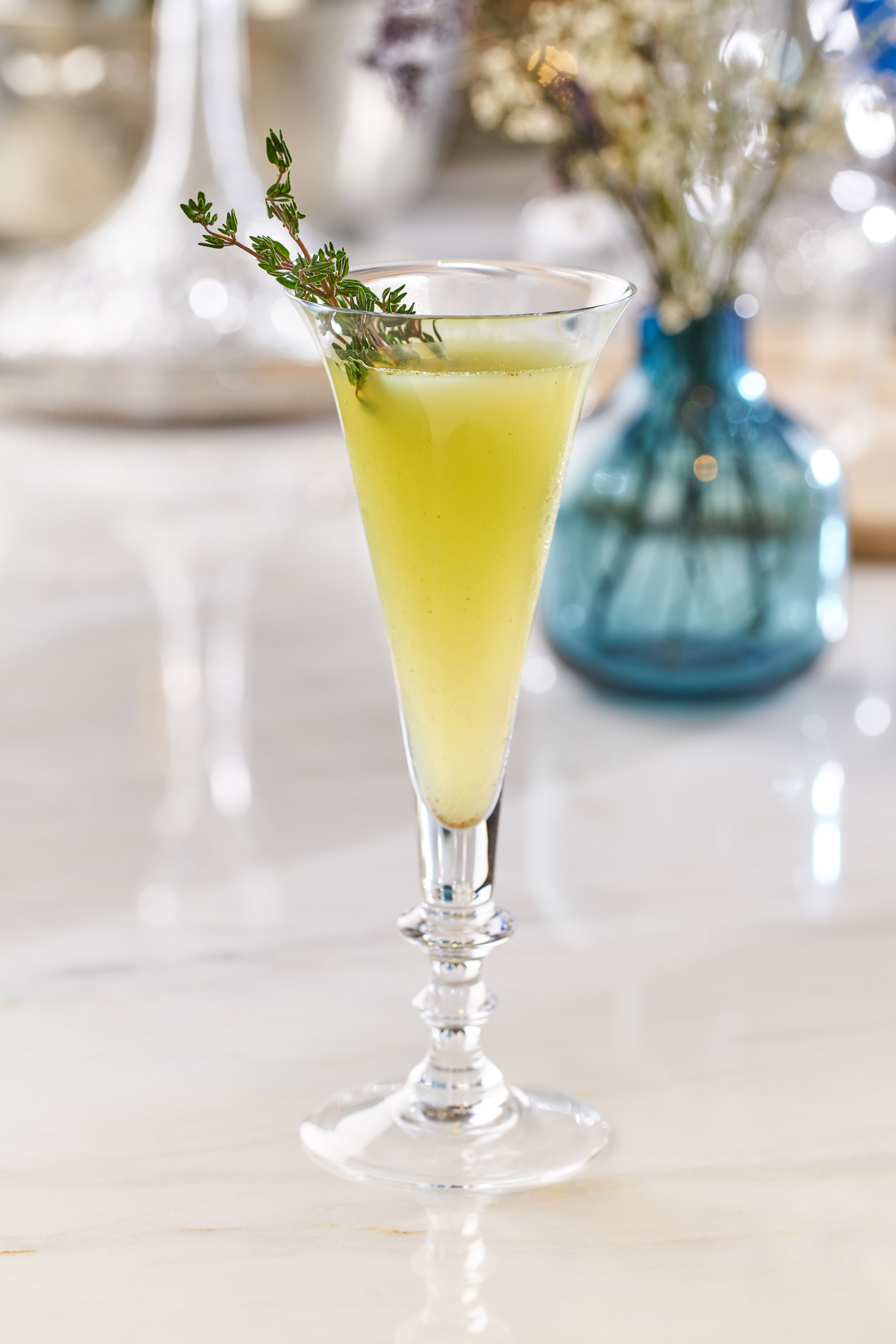 Cocktails at Bleu Blanc | Best Restaurants in Dubai