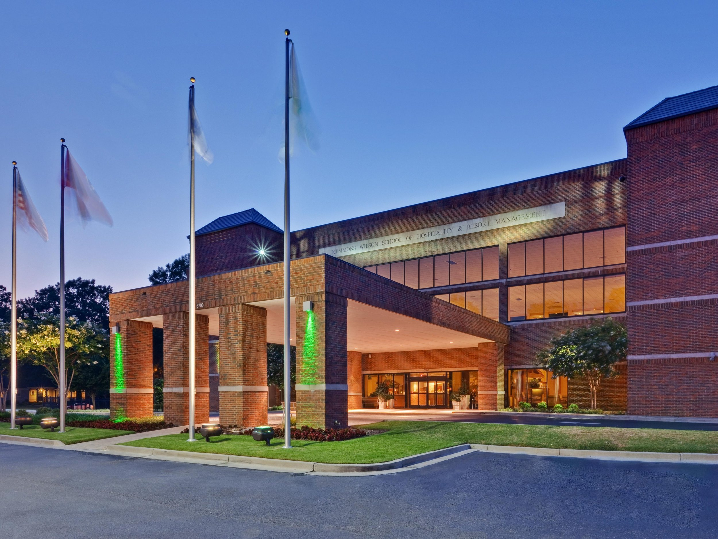 The Holiday Inn at the University of Memphis - 3700 Central Ave, Memphis, TN 38111
