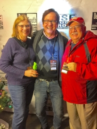Ron & Nancy McFarlane with Dave Rose