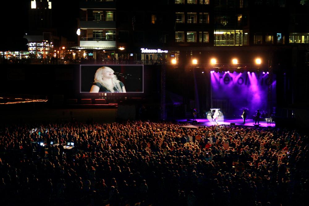 Miranda Lambert at Durham Bulls Athletic Park - CMT Tour