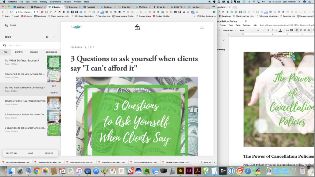 Blogging - adding and editing blog posts