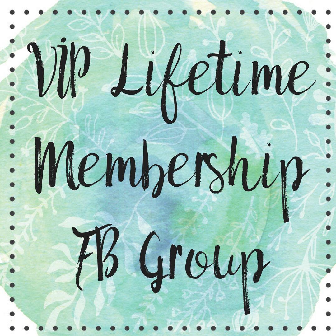 VIP Lifetime Membership Facebook Group