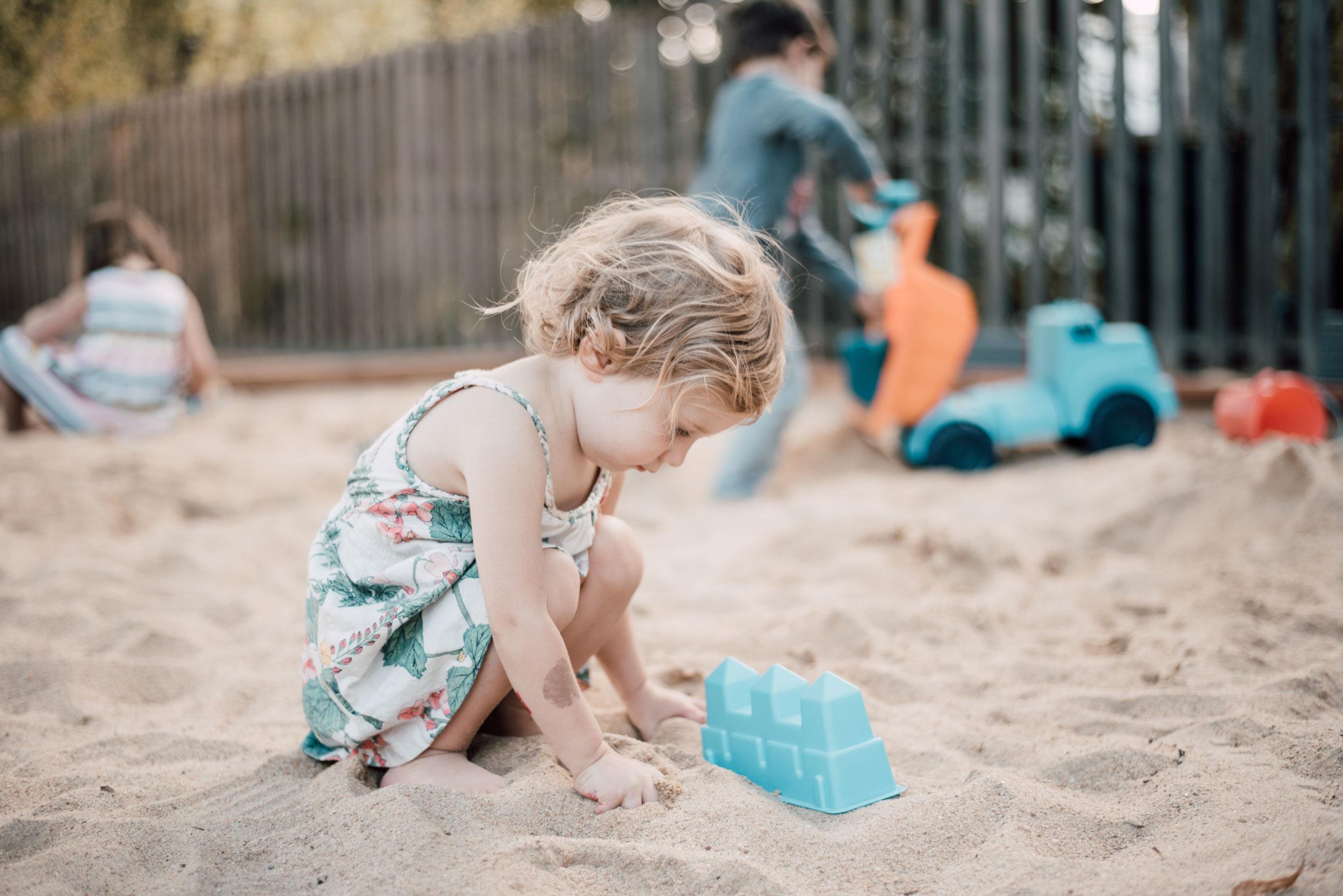 Sensory and outside play !