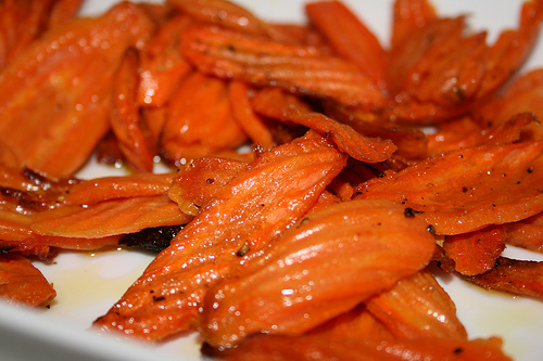 roasted carrots www.talkoftomatoes.com