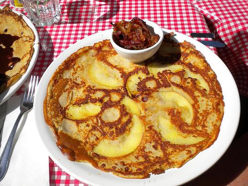 large pancakes