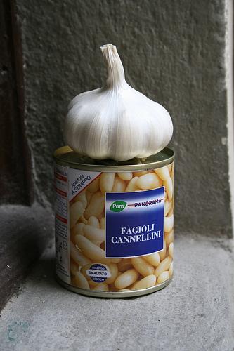 garlic and white beans www.talkoftomatoes.com