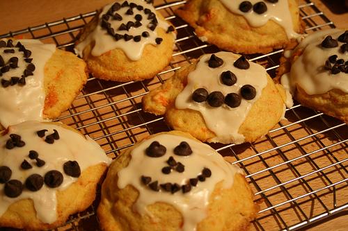 pumpkin cookies www.talkoftomatoes.com