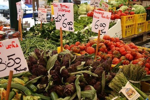Italian farmer market www.talkoftomatoes.com