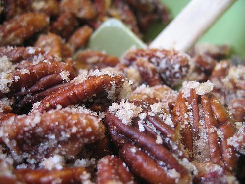 ginger sugar pecans