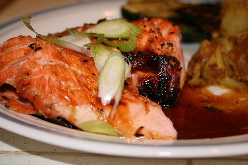 soy maple salmon