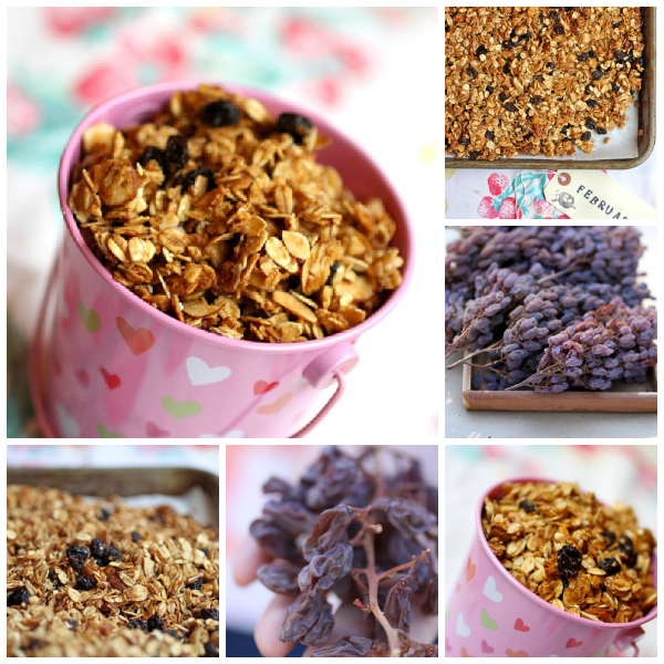 granola recipe with raisins www.talkoftomatoes.com