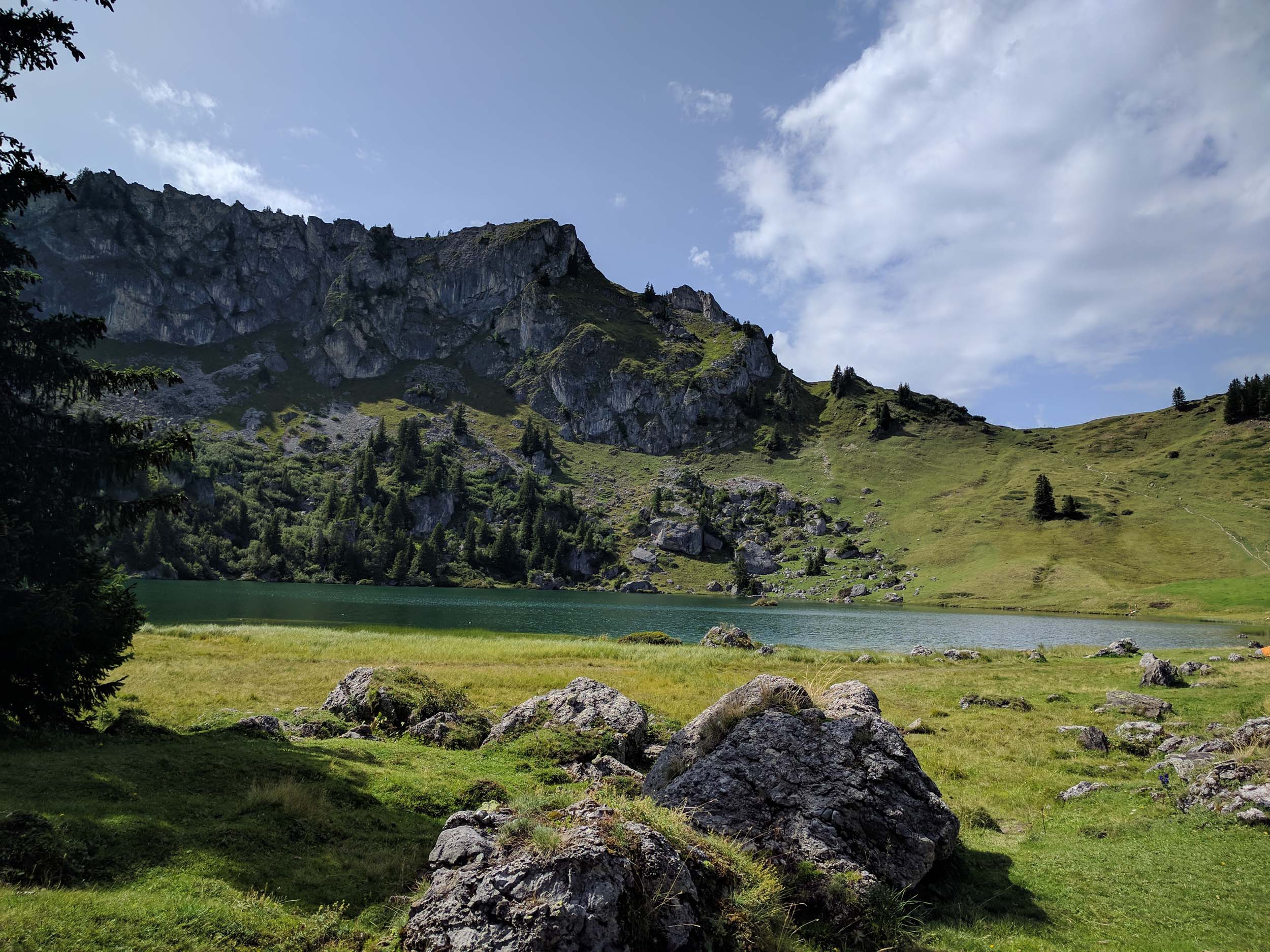 Der Seebergsee (what a name!)