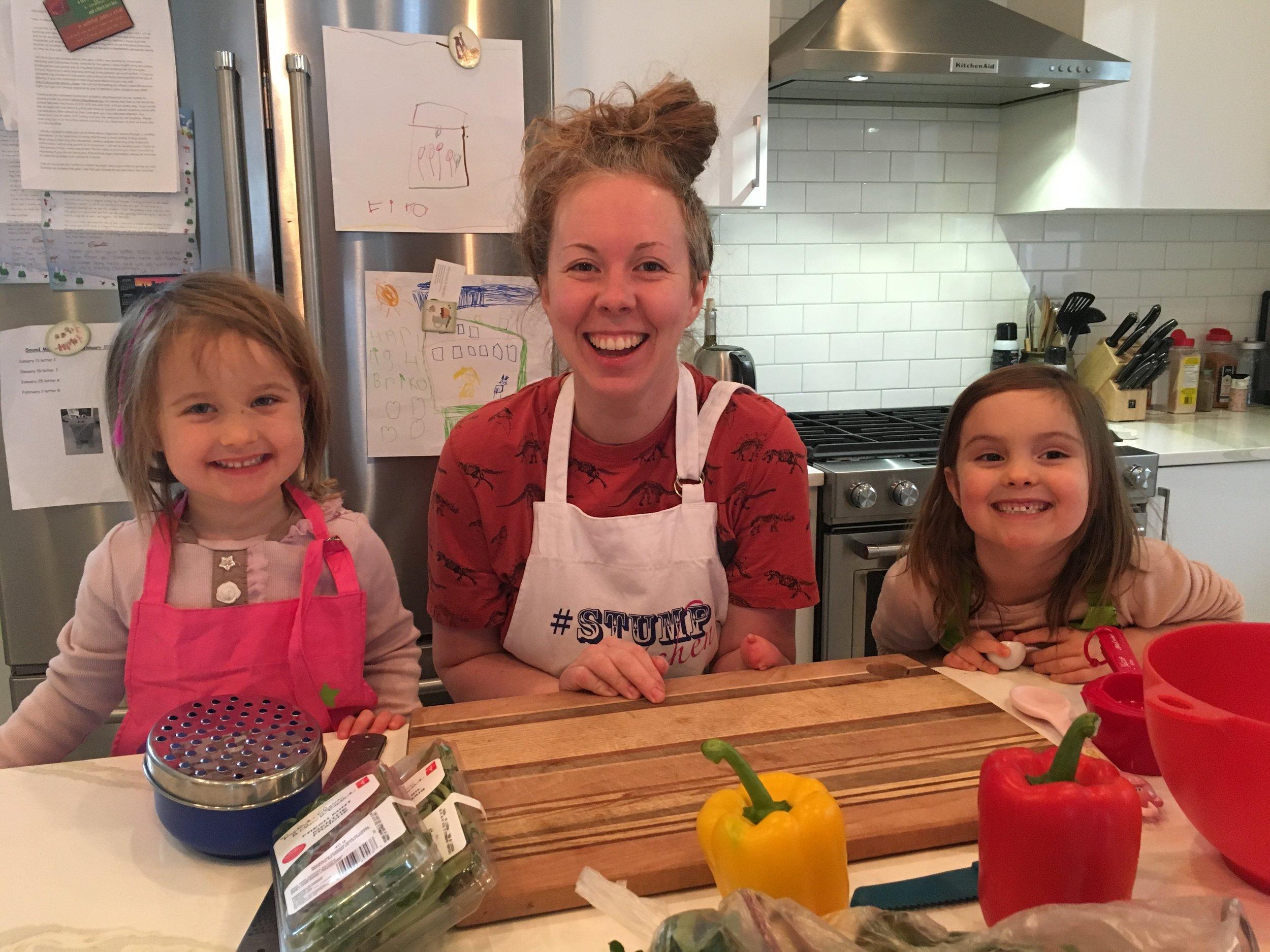 Three happy chefs! -
