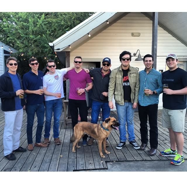 Bachelor Party on Rainey Street Austin Texas .jpg