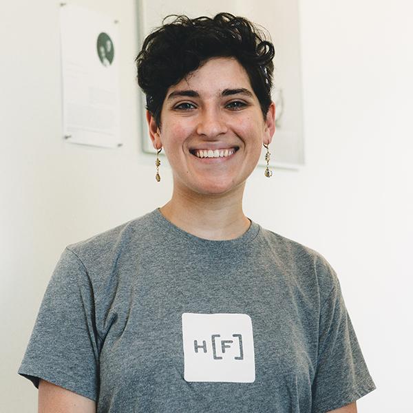 Sarah Bland, Startgarden, 2018 HF Intern