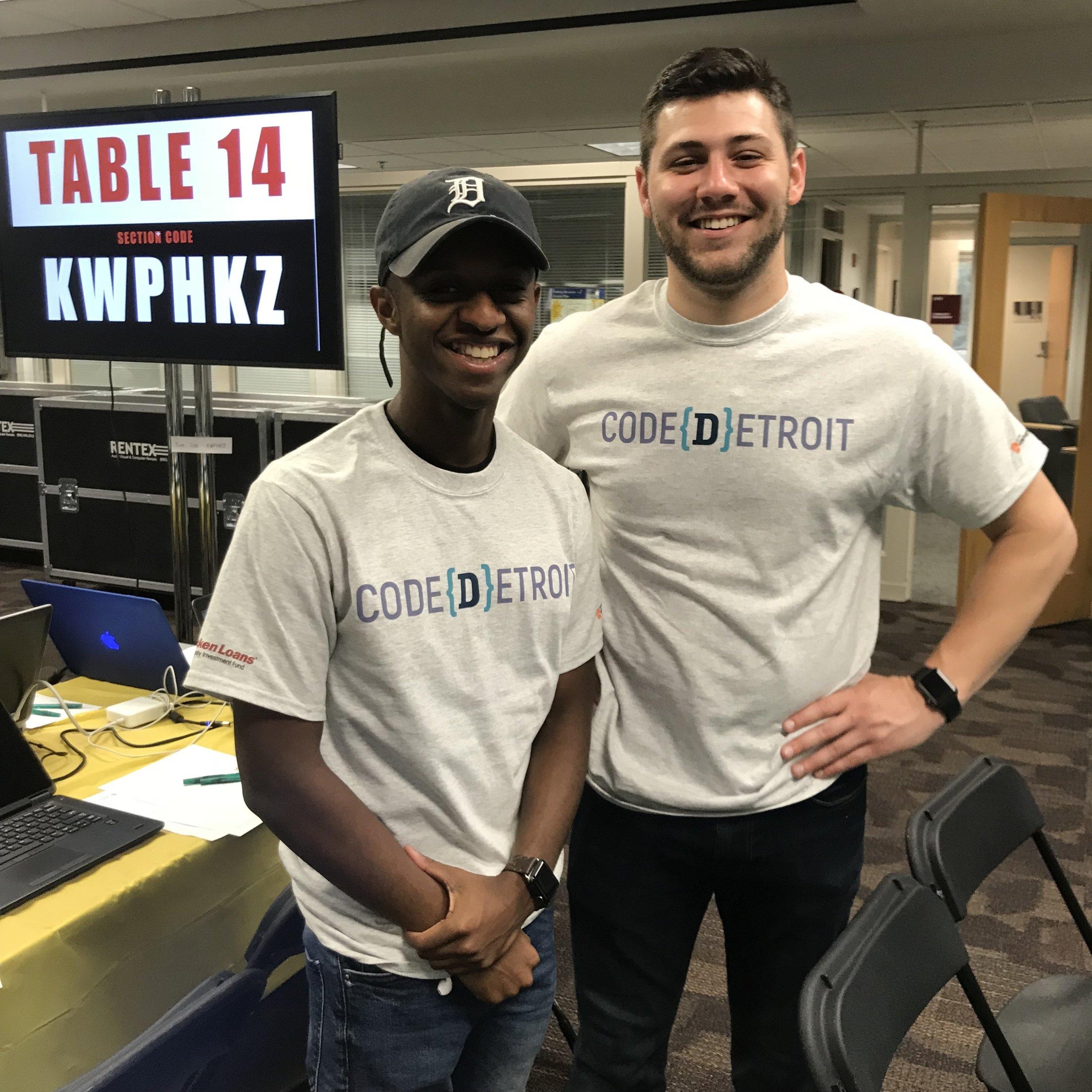 Hacker Fellows During Detroit Code 5000