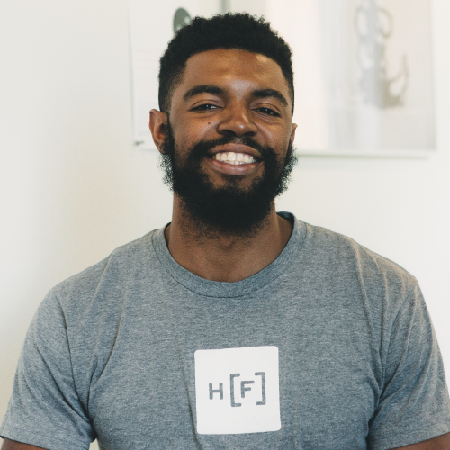 Tremaine Grant, Bulk, 2018 Hacker Fellow