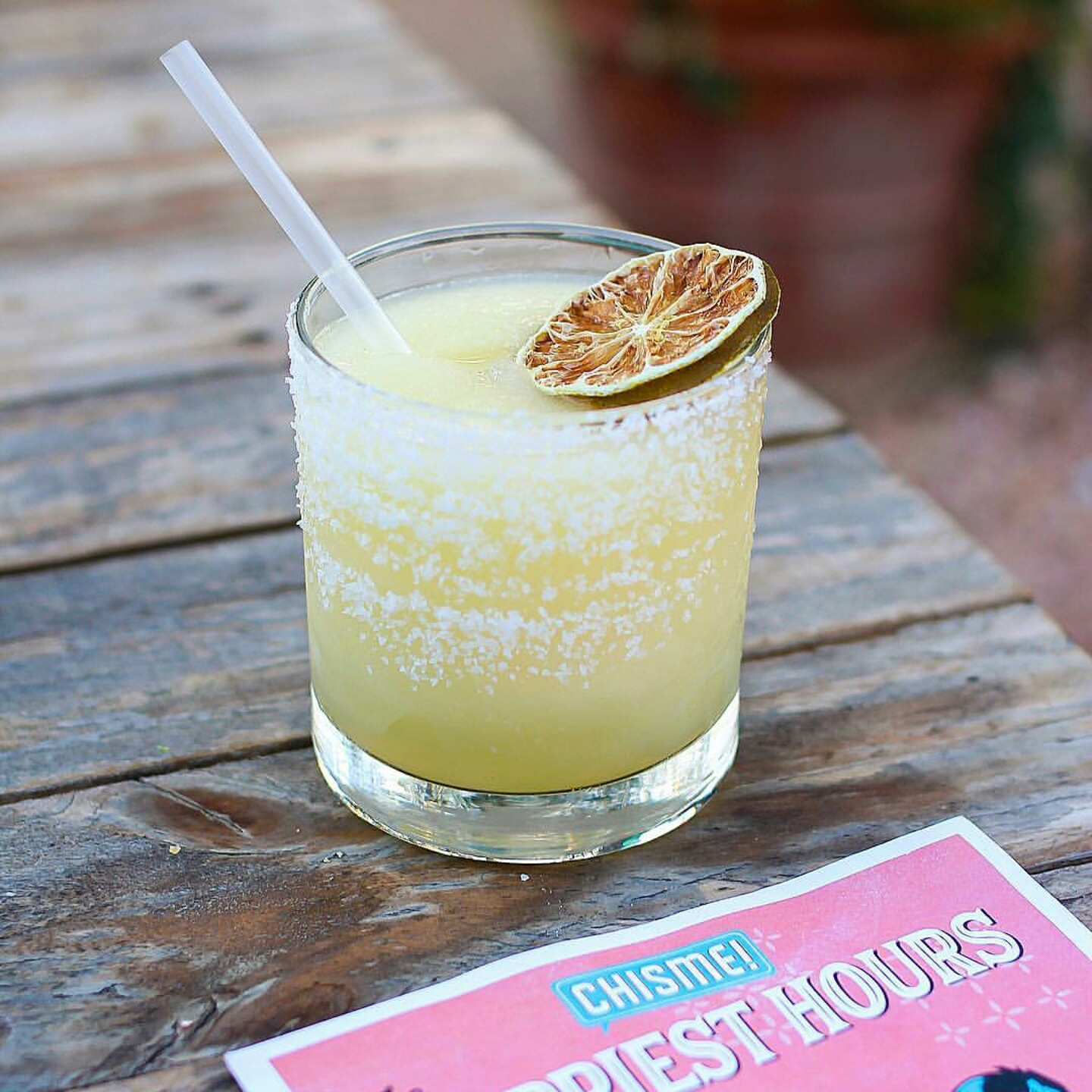 House Margarita made with FRESH lime juice and House Citrus Cordial.