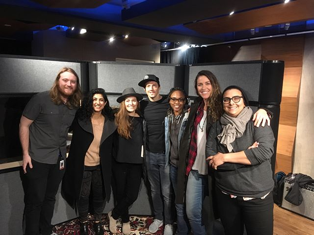 "#TBT It was such a pleasure working with @jason_mraz and @raining_jane one the certified gold single ""Have It All."" Thank you for sharing your talents with me! Sincerely,"