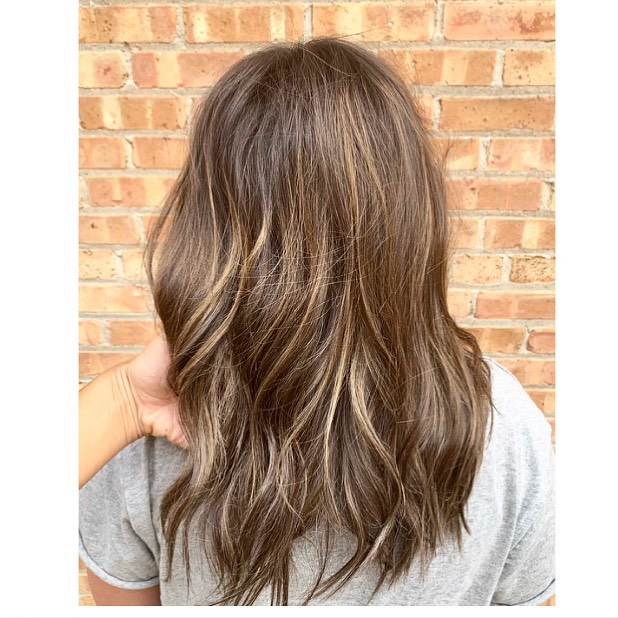 Natural Balyage & first time highlights 😻  Color- Nicolette Cute- @jrhairbyjennireynolds