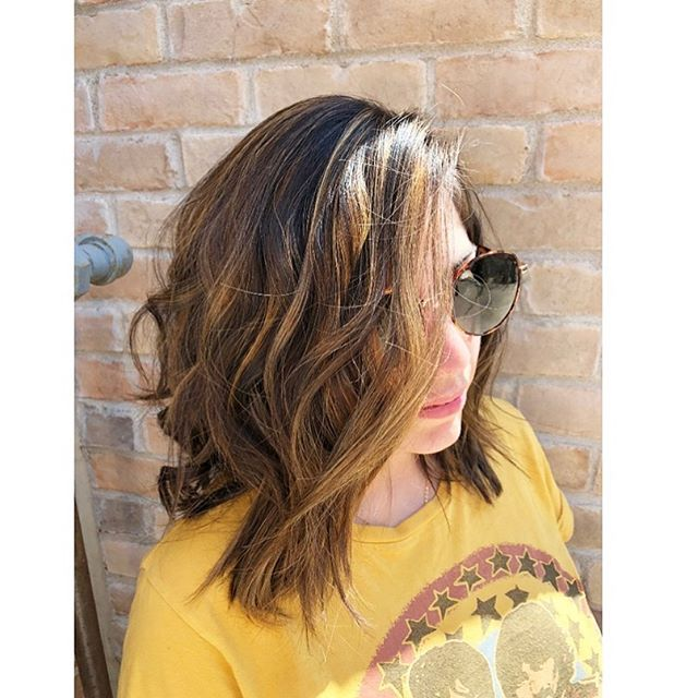 Swipe ➡️➡️ for before ✂️ @jrhairbyjennireynolds 🎨  Nicolette