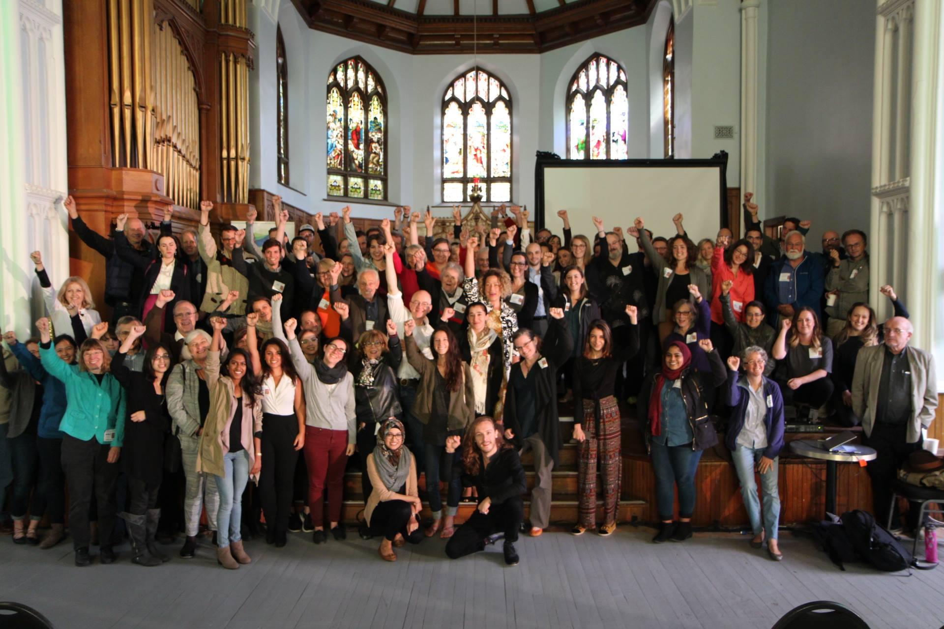 Participants celebrate the success of ClimaCon2017!
