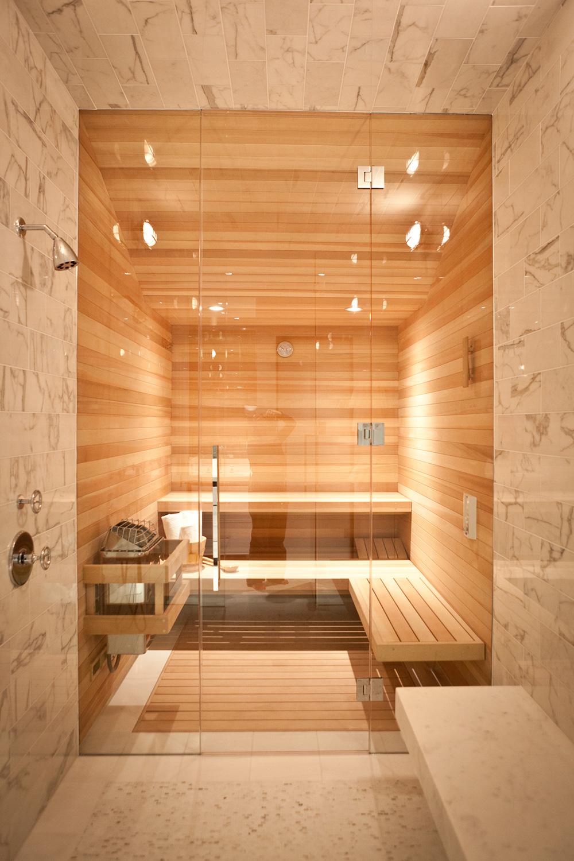 bathroom, sauna, wood, architecture, shower, modern, warm tones