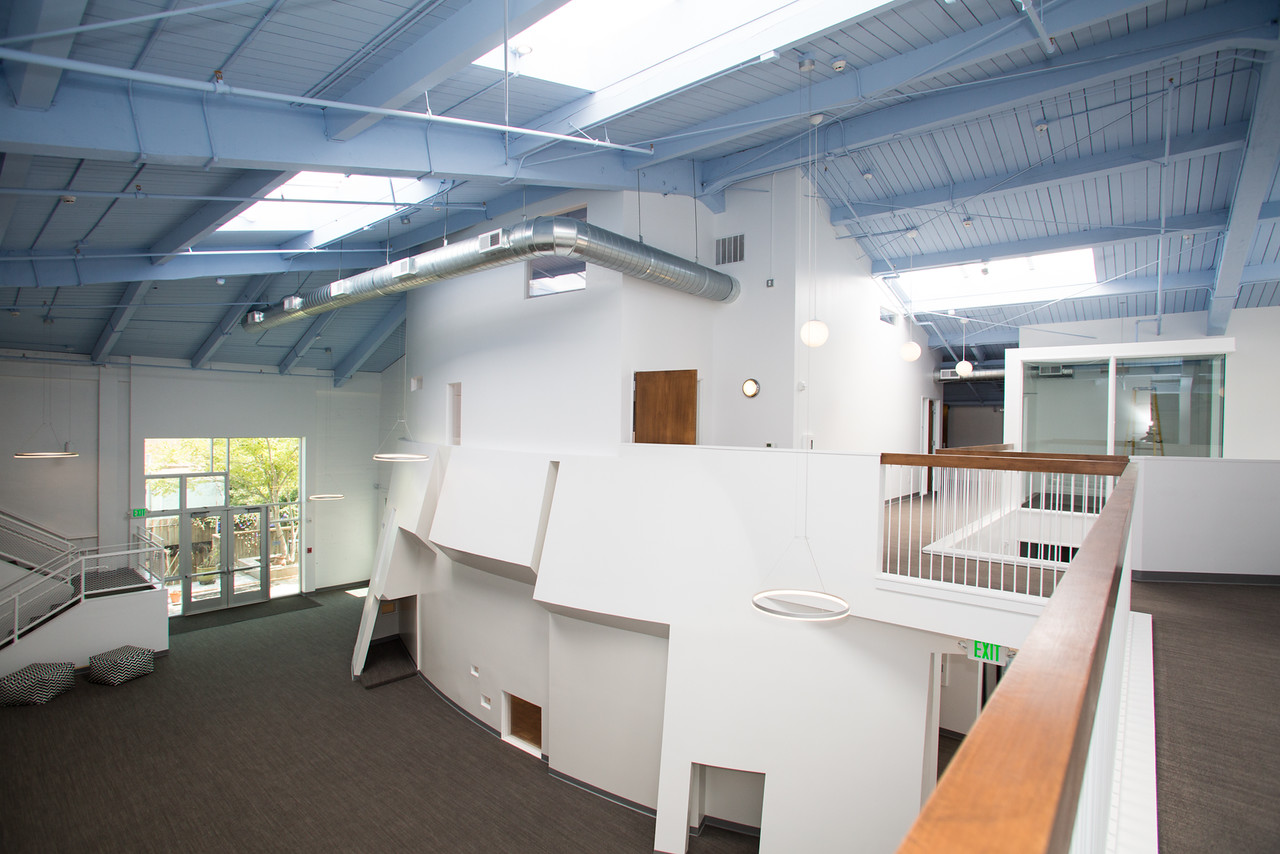 open, modern, white, clean, san francisco school, elementary, architecture, children's space