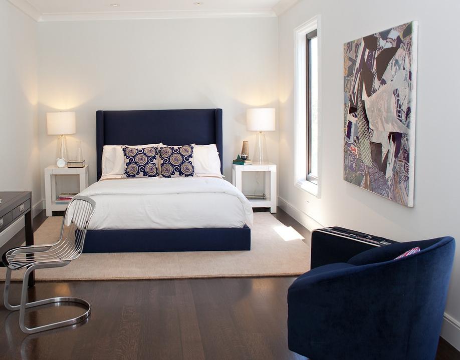 modern, bedroom, simple,, clean, bedside tables, bed frame