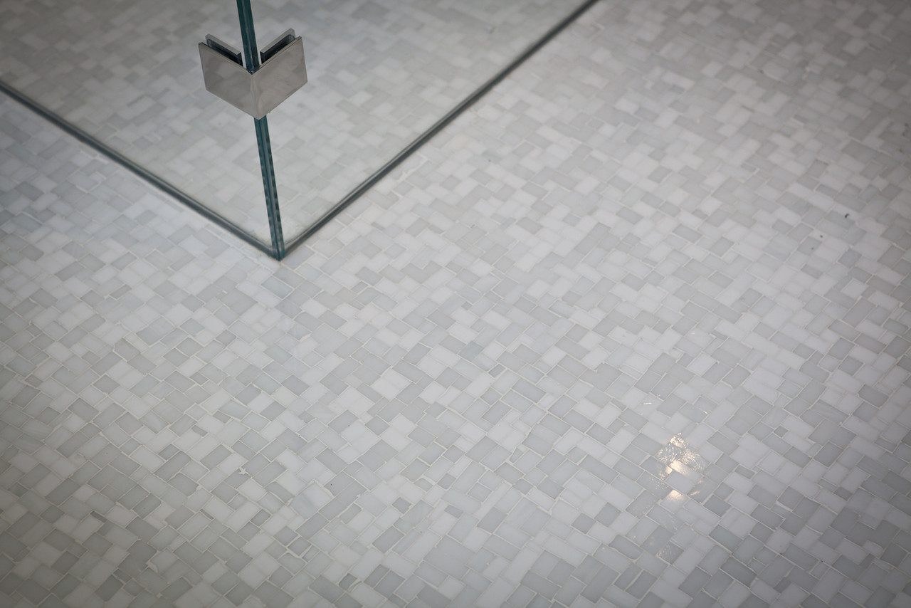 bathroom floor, bathroom tile, mosaic tile, marble tile, shower