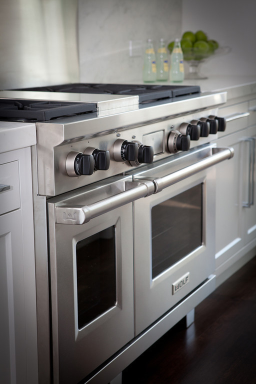 kitchen, wolf range, wolf stove, stainless steel