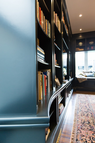 details, library, benjamin moore, classic, san francisco